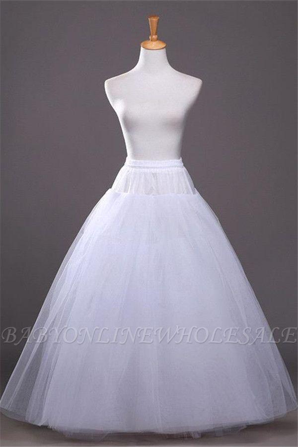 Günstige A-Linie Tüll Taft Hochzeit Petticoat