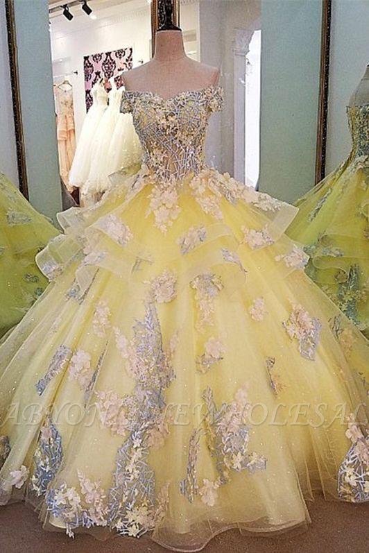 Magnifique col en V épaules dénudées à lacets une robe de soirée en satin avec des applications de dentelle
