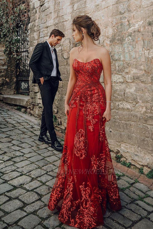 Sweetheart Floral Partten robe de soirée longueur de plancher robe de soirée en tulle
