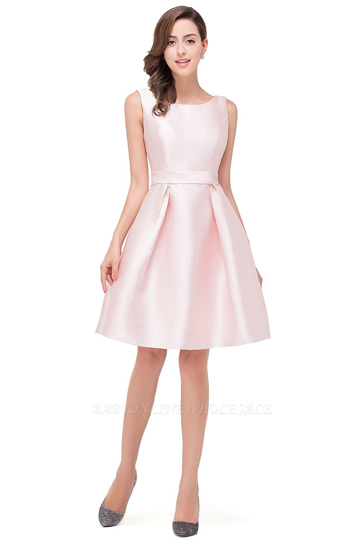 EMERSON | A-Line Sleeveless Knee Length Short Prom Dresses