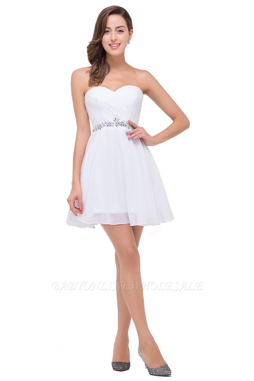 EMILEE | Платья с короткими выпускными платьями с бисером