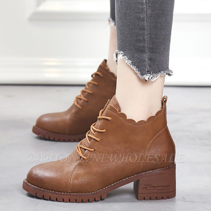 Короткие каблуки с застежкой-молнией