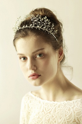 glamourous Alloy&Rhinestone Special Occasion &Wedding Hairpins Headpiece with Crystal_9