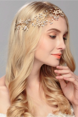 glamourous Alloy &Imitation Pearls Special Occasion&Party Headbands Headpiece with Rhinestone_2