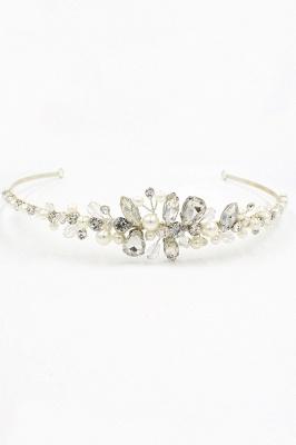 Elegante Legierung Nachahmungen von Perlen Besondere Anlässe & Hochzeit Haarnadeln Kopfschmuck mit Kristall Strass_1