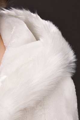Warm Luxury Tulle  Ivory Sleeveless Casual Cathedral Wedding Wraps_7