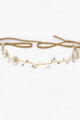 Floral  Alloy Party Headbands Headpiece with Rhinestone_4