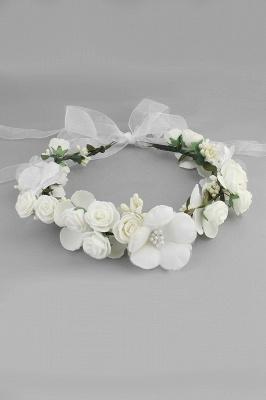 زهرة بلاستيكية مناسبة خاصة زهرة-البنات أغطية الرأس مع اللآلئ المقلدة_1
