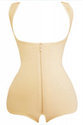 Fashion Polyester&Cotton Front Closure Women's Camisoles Shapewear_1
