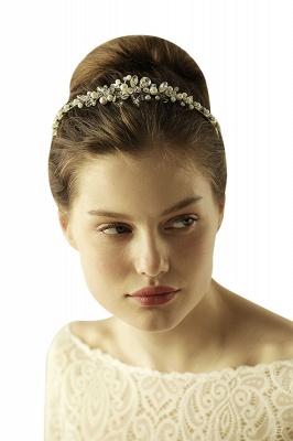 Elegante Legierung Nachahmungen von Perlen Besondere Anlässe & Hochzeit Haarnadeln Kopfschmuck mit Kristall Strass_6