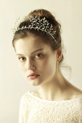 glamourous Alloy&Rhinestone Special Occasion &Wedding Hairpins Headpiece with Crystal_5