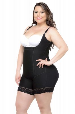 Hot sale Chinlon&Polyester Front Closure Women's Camisoles Shapewear with Lace