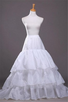 A-Linie Taffeta Scalloped Edge Event Petticoats