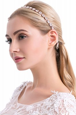 Cute Alloy Daily Wear Headbands Headpiece with Rhinestone
