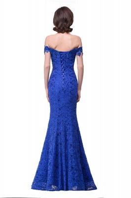 HALLIE | Русалка Off-the-плечо длиной до пола, кружевные платья невесты с кристаллами_4
