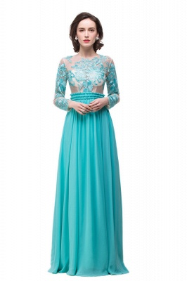 Floor-length Sash Formal Dresses With Sashes