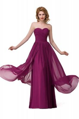 Sexy A-linie Bodenlangen Chiffon Brautjungfernkleider   Elegante Brautjungfernkleider Günstig_8
