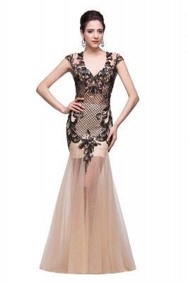 Prom Dresses With Applique
