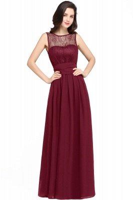 Jewel Lace Keyhole Mantel bodenlangen schwarzen Chiffon Sexy Abendkleid_1