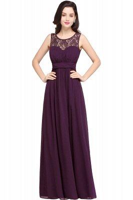 Jewel Long gaine en mousseline de soie-parole longueur manches en dentelle sexy robe de soirée_3