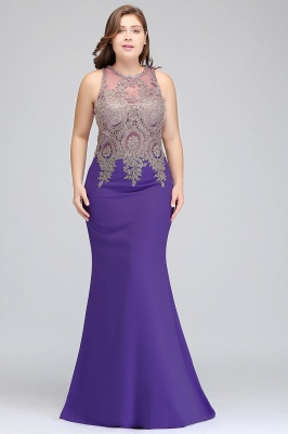 2018 plus size evening dresses long
