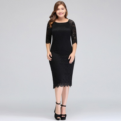 plus size short dresses with sleeves