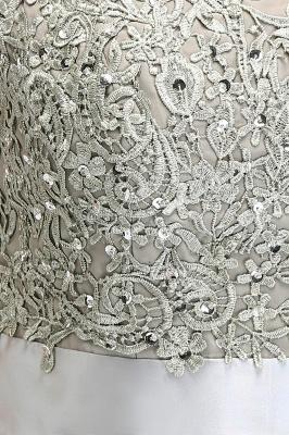 ADA | A-line V Neck Chiffon Bridesmaid Dress with Appliques_12
