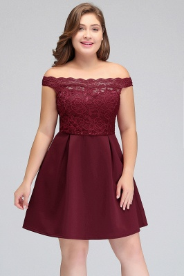 short plus size prom dress