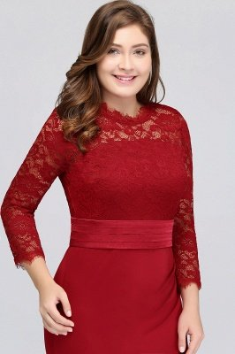 modest plus size bridesmaid dresses with sleeves