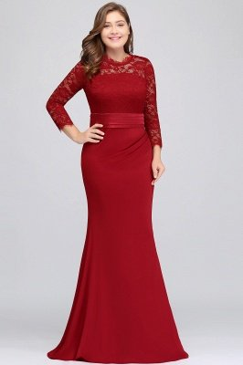 long plus size bridesmaid dresses with sleeves