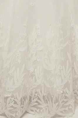 Wunderschöne Brautkleider Schlicht Online Kaufen | Elegantes Brautkleid Mit Spitze Und Tüll_10