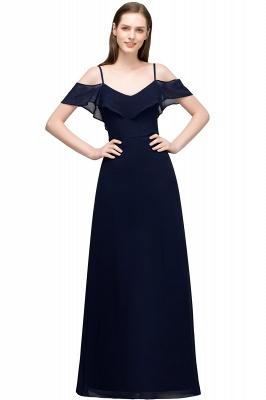 JULIANA | A-line Spaghetti Off-shoulder V-neck Long Chiffon Prom Dresses_5