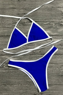 Multi-color Swimwear Bikini Set_8