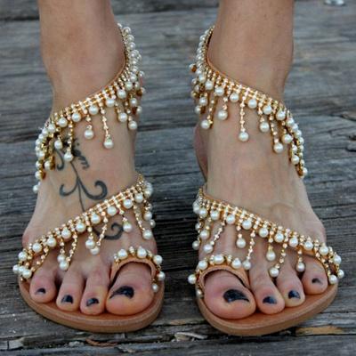 Sandales en cuir pour femme_6