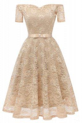 neue A-Linie Frauen Lace Vintage Dress_3