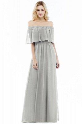 Hera | Off the shoulder Black Long Evening Dress - Clearance Sale_3