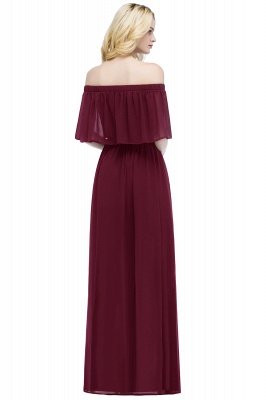 Hera | Off the shoulder Black Long Evening Dress - Clearance Sale_11