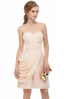 NELLIE | A-line Sweetheart Strapless Ruffles Chiffon Homecoming Dresses_5