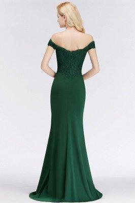 Elegante Brautjungfernkleider Dunkelgrün Online Kaufen | Günstige Brautjungferkleider Mit Applikationnen_11