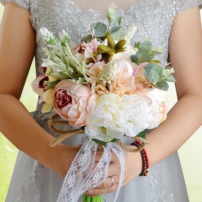Свадебный букет из натуральных камней_9
