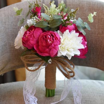 Свадебный букет из натуральных камней_5