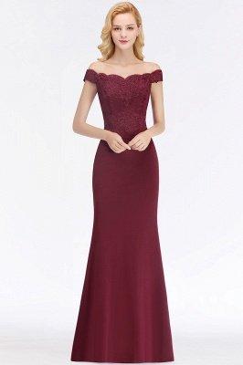 Elegante Brautjungfernkleider Dunkelgrün Online Kaufen | Günstige Brautjungferkleider Mit Applikationnen_2