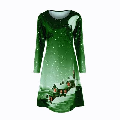 Weihnachten Plus Size Graphic Long Sleeve T-Shirt_6