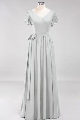 Elegante Brautjungfernkleider Mit Schlitz   Schlichtes Brautjungfer Kleid Online Kaufen_29