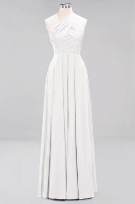 Brautjungfernkleider Weinrot Lang Chiffon | Etuikleider Brautjungfernkleid Übergröße_1