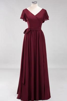 Elegante Brautjungfernkleider Mit Schlitz   Schlichtes Brautjungfer Kleid Online Kaufen_10