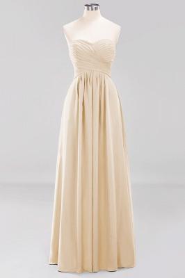 Herz Ausschnitt Braujungfernkleider Träglos | Elegantes Brautjungfer Kleid Weinrot_14