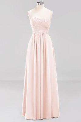 Herz Ausschnitt Braujungfernkleider Träglos | Elegantes Brautjungfer Kleid Weinrot_5
