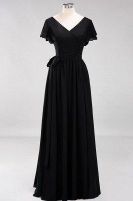 Elegante Brautjungfernkleider Mit Schlitz   Schlichtes Brautjungfer Kleid Online Kaufen_28