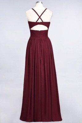 Chiffon A-Line Spaghetti-Straps V-Neck Sleeveless Long Bridesmaid Dress with Ruffles_41